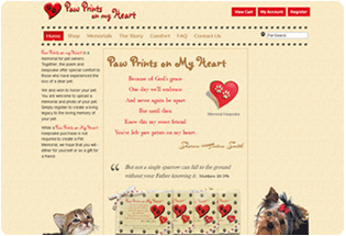 Visit Paw Prints on my Heart